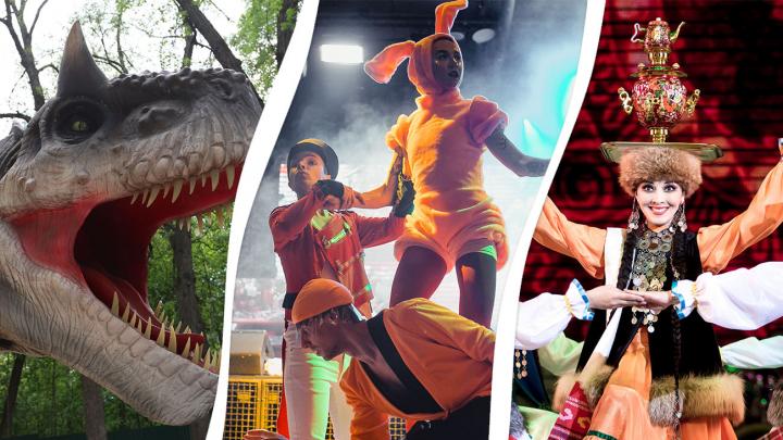 Вечеринка для взрослых, студенческая опера и шоу о динозаврах: идеи развлечений на каждый день недели