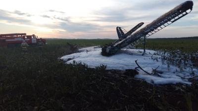 У пострадавшего ожог 60% поверхности тела: собираем онлайн-подробности падения Ан-2 в Большеболдинском районе