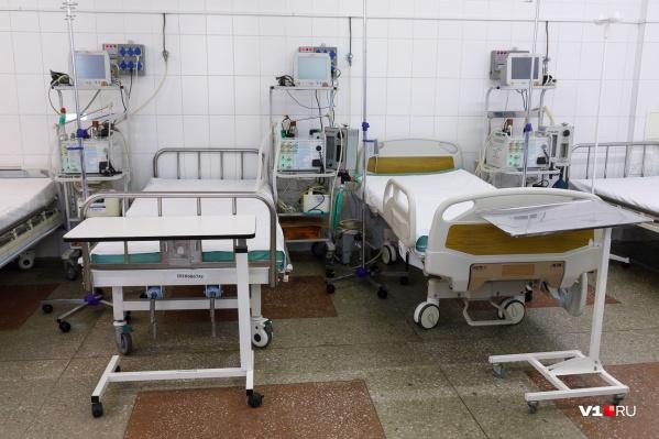 В больницах находятся полторы тысячи волгоградцев