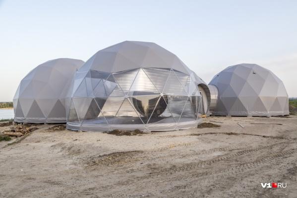В ЦПКиО обустраивают космический городок и марсианскую пустыню вокруг
