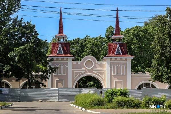 Парк готовится встречать нижегородцев