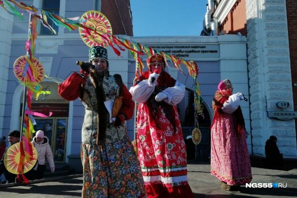 Масленицу в этом году будут отмечать на Любинском проспекте