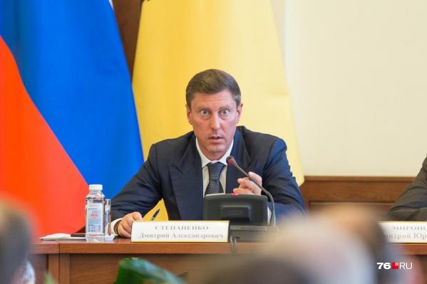 Антимонопольщики потребовали, чтобы Дмитрий Степаненко изменил постановление регионального правительства