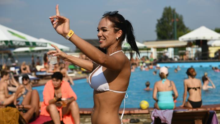 Такой жары еще никогда не было: в Екатеринбурге воздух прогрелся до рекордной отметки