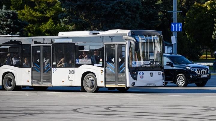 В Ростове изменят маршруты общественного транспорта из-за репетиций парада Победы