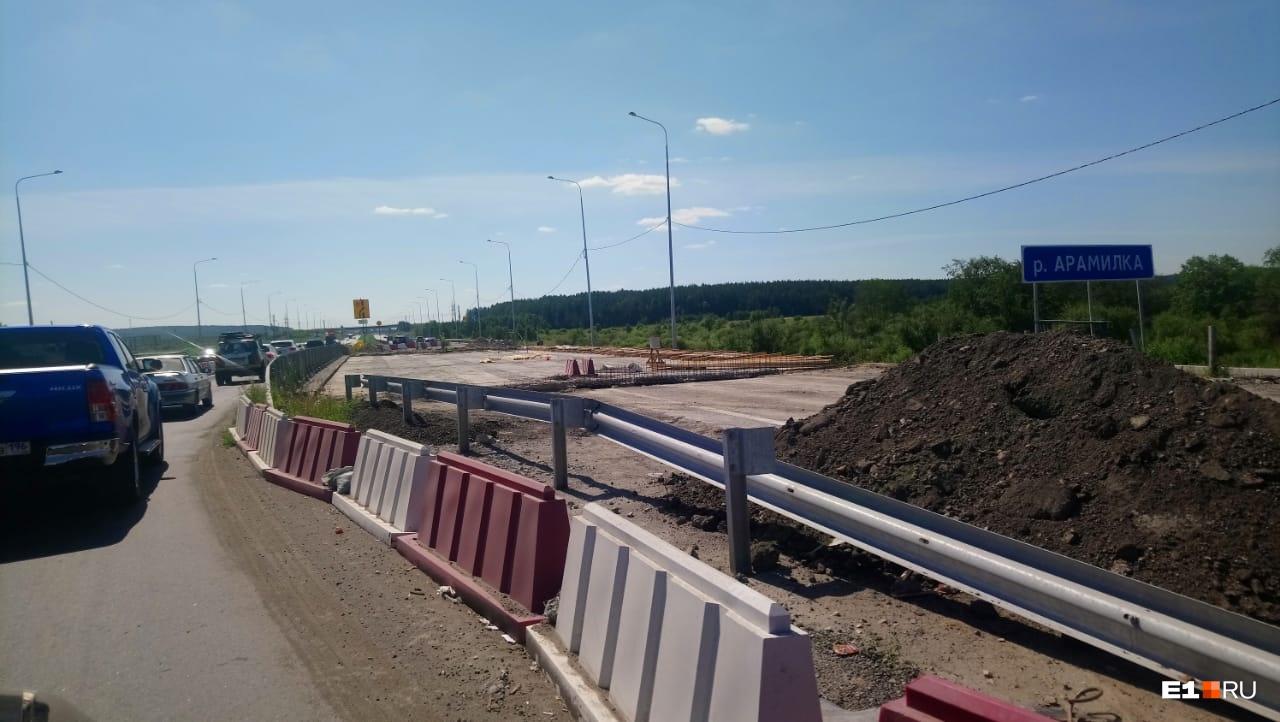 Мост через Арамилку будет отремонтирован к ноябрю 2020 года