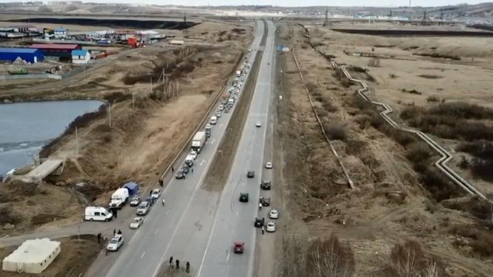 «Грубых нарушителей немного»: в полиции рассказали о работе на въездах в город