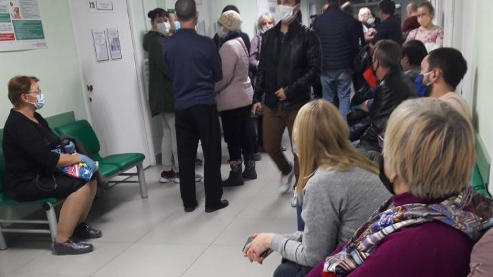 Проблему очередей в больницах Зауралья в период пандемии хотят решить с помощью видеокамер