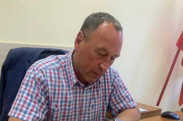 Алексей Таборов вступил в должность главы района в 2017 году<br>