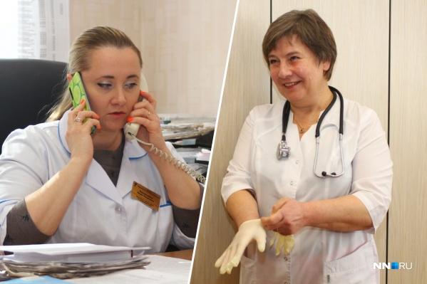 Врачи, которые лечат больных коронавирусом в Нижнем Новгороде