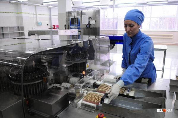 На заводе «Медсинтез» планируют выпуск вакцины от COVID-19