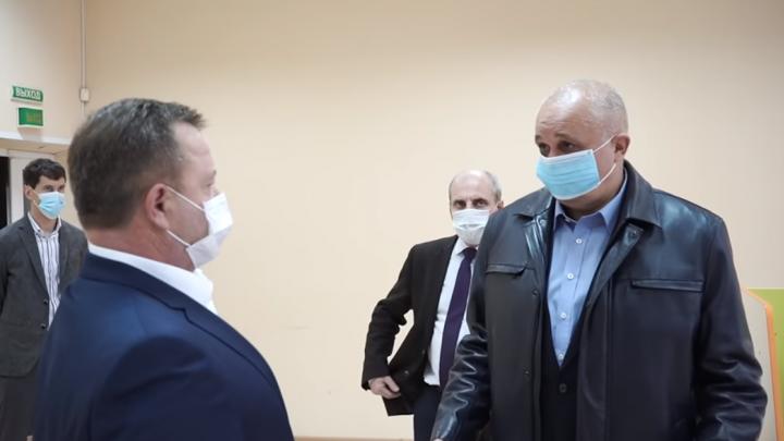 «Сейчас реально перейду на шахтерский язык»: Цивилев на людях унизил министра здравоохранения