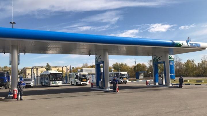 Метановую заправку возле ПАТП № 8 откроют в сентябре