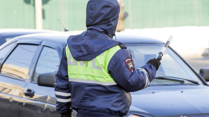 Под Ярославлем полиция открыла огонь по машине нарушителя. Видео