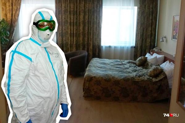 Челябинских врачей, работающих в «красных зонах», изолировали от семей в гостиницах