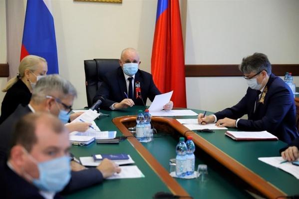 Губернатор Кузбасса будет заниматься блоком «Энергетика»