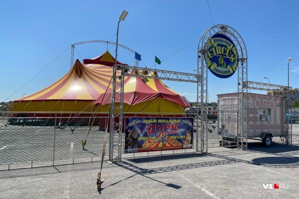 Цирк из Забайкалья застрял в Волгограде на время эпидемии коронавируса