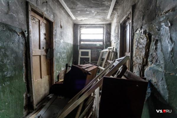 В мэрии хотят признать аварийными семь старых двухэтажек<br>