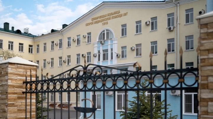 Из-за вспышки коронавируса в больнице № 7 Волгограда закрыли большую часть отделений