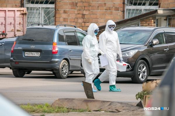 За весь период пандемии в крае заразились 18,4 тысячи человек