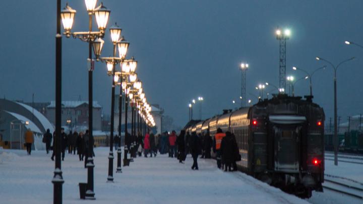 Из-за пандемии COVID-19 РЖД отменит два поезда из Архангельска