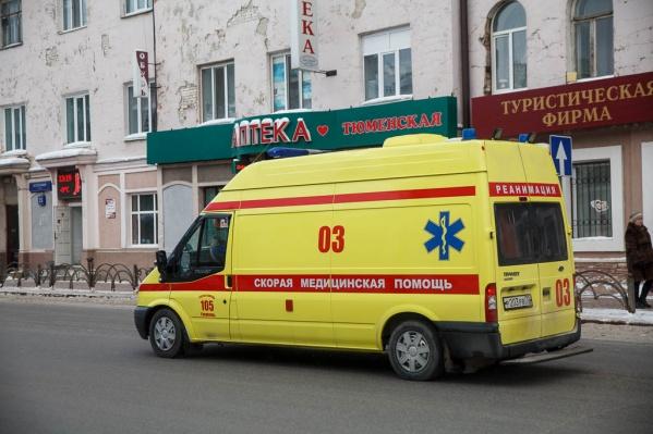 Скорая помощь прибыла к пациентке после звонка от сына