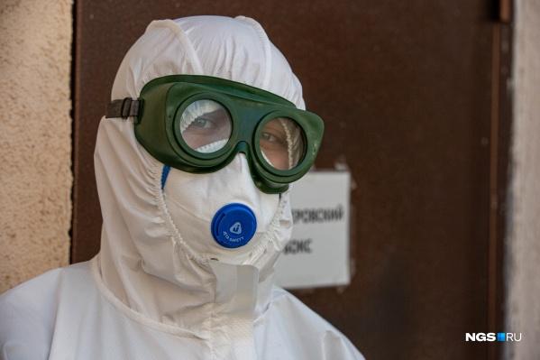 На искусственной вентиляции легких находятся 27 пациентов
