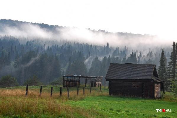 Деревня Серпиевка (ударение на букву «и») на реке Сим, Катав-Ивановский район