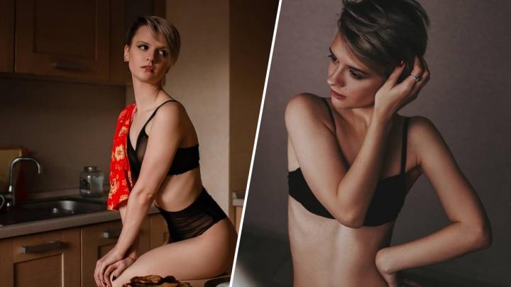 Ню-модель из Красноярска участвует в конкурсе от журнала MAXIM