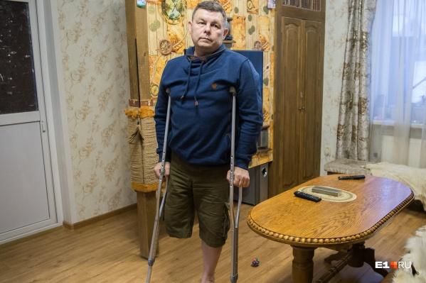 Андрей Борисович 25 лет проработал на скорой, из-за ошибки коллег потерял ногу, а вместе с ней любимую работу