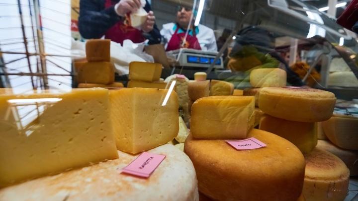 Уничтожить «санкционку»: у продавца самарского агропарка изъяли европейский сыр