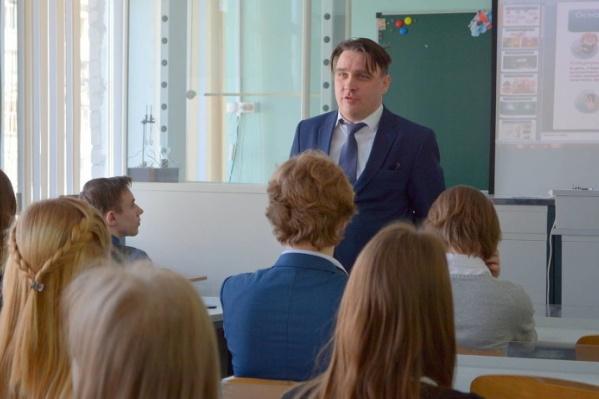 Юрий Гнедышев стал и. о. министра образования Архангельской области в конце августа, когда в отставку вышел Олег Полухин <br>