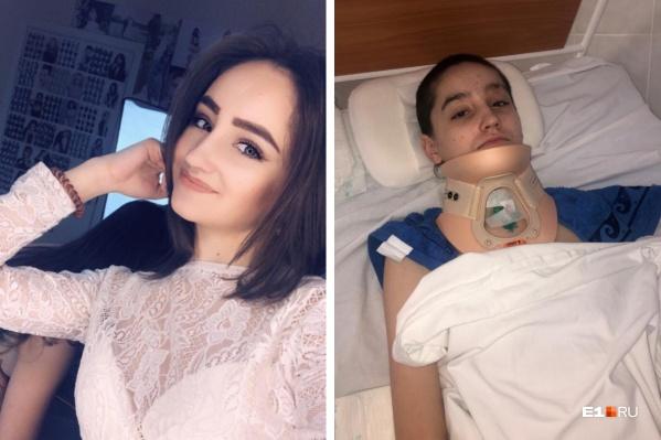 Екатерину Долматову на вертолете доставили в Магнитогорск