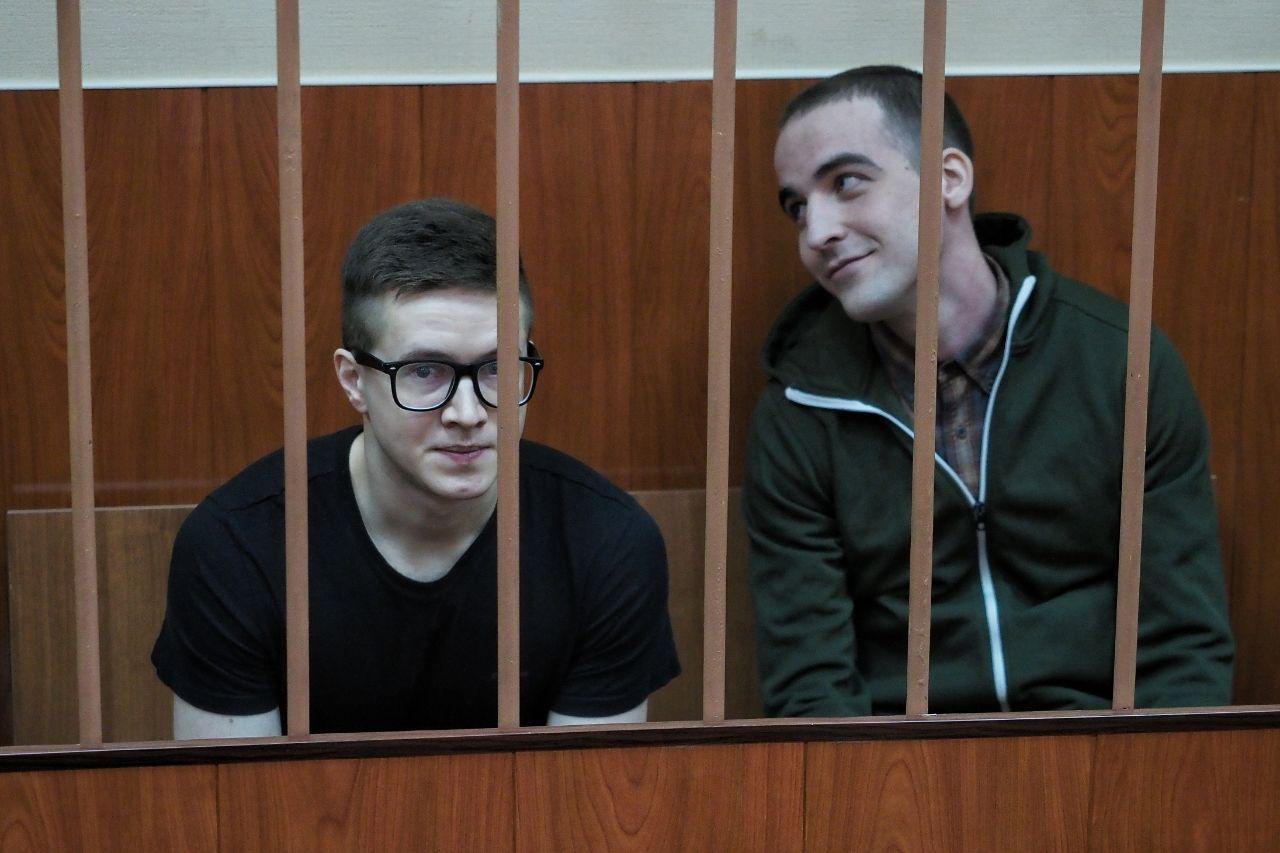 На фото петербургские фигуранты Филинков и Бояршинов.