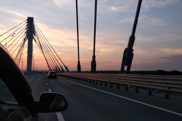 Новый мост облегчил движение в сторону федеральных трасс