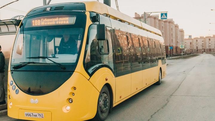 Починили: самарский электробус вновь выйдет в рейс