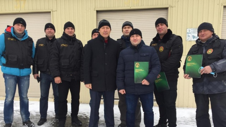 В Екатеринбурге наградили дружинников за борьбу с ковид-диссидентами