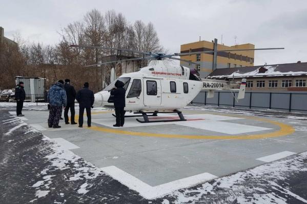 Новая площадка расположена на территории областной больницы на Воровского, 70