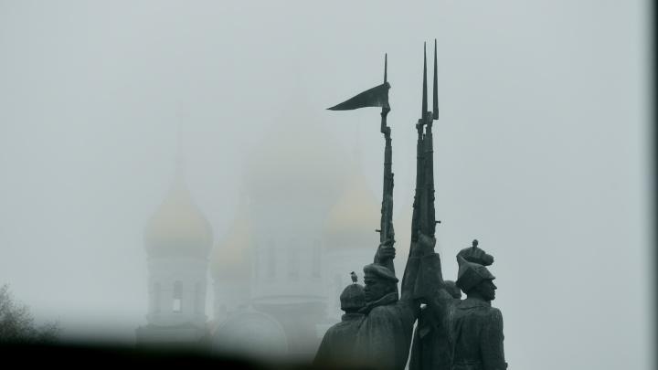 Попробуйте узнать: показываем родной Архангельск, окутанный пеленой тумана — фоторепортаж