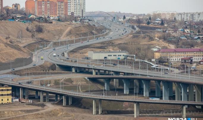 В мэрии нашли подрядчика для строительства новых съездов на Николаевский мост с Академгородка
