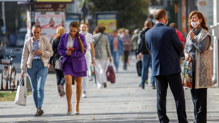 161.RU сравнил улицы Ростова во время весеннего локдауна и сейчас — в дни рекордной заболеваемости