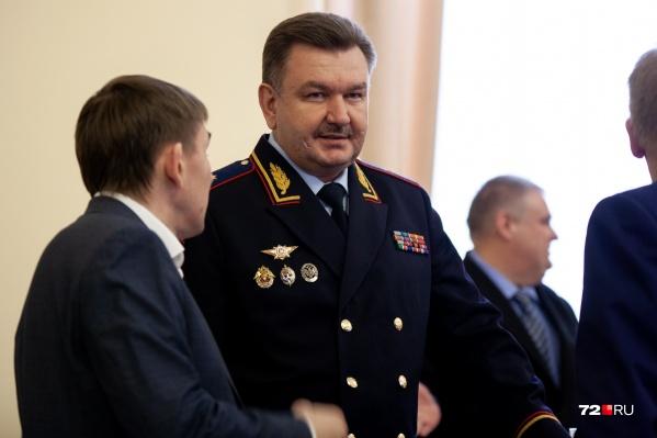 Леонид Коломиец стал руководителем УМВД России по Тюменской области в конце прошлого года