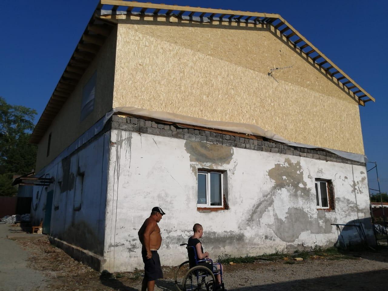 Новый дом, который подарили Артему для его приюта