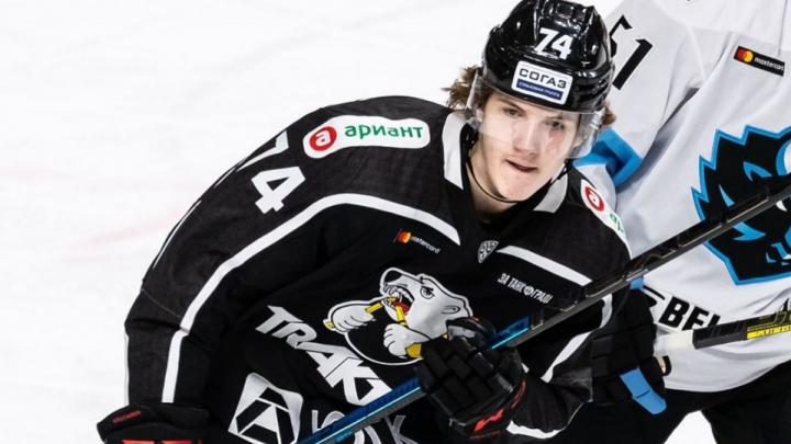 Виталий Кравцов вернулся из НХЛ в «Трактор»