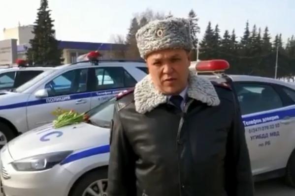 Динар Гильмутдинов пожелал автоледи соблюдать ПДД