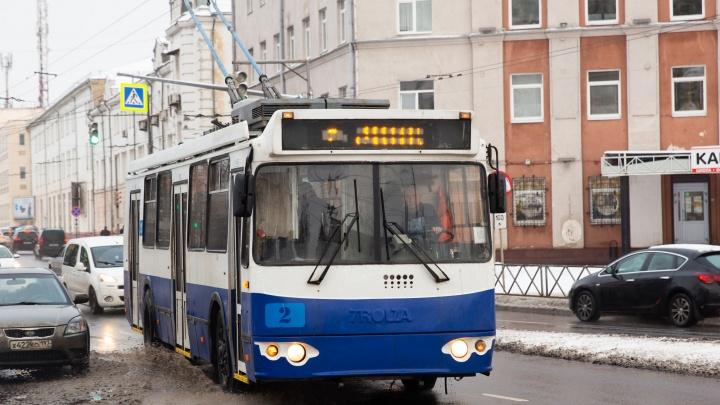 Где троллейбусы? После продажи депо в Ярославле так и не купили новый транспорт