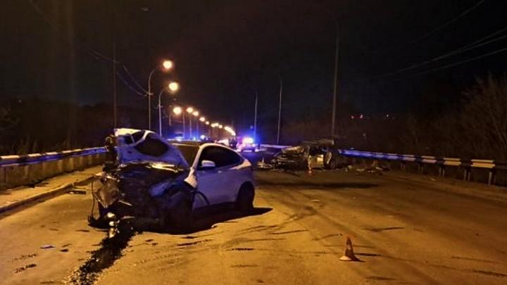 В аварии на ВИНАПовском мосту пострадали семь человек, ребенок в реанимации