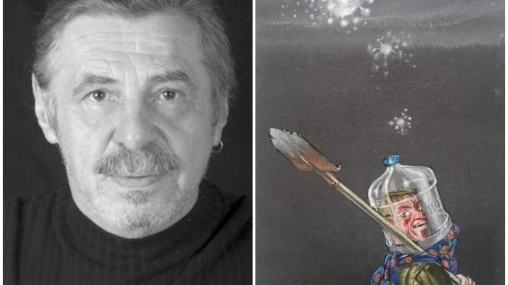 «Это попытка сказать, что все хорошо»: уральский художник пишет ироничные картины про коронавирус