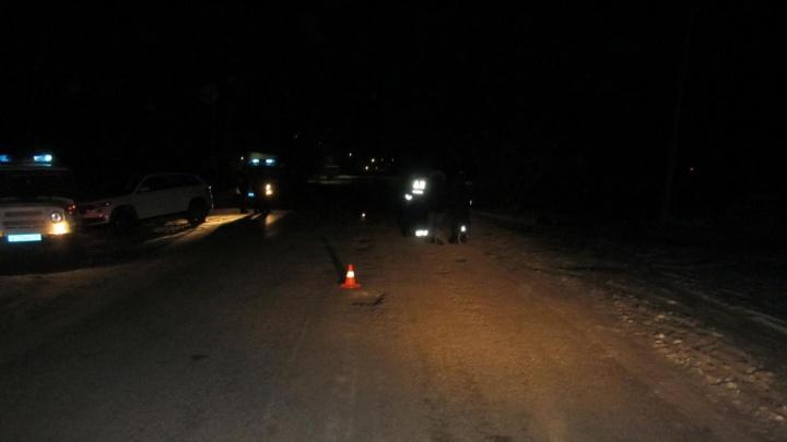 В Курганской области 19-летний водитель насмерть сбил пенсионерку и скрылся
