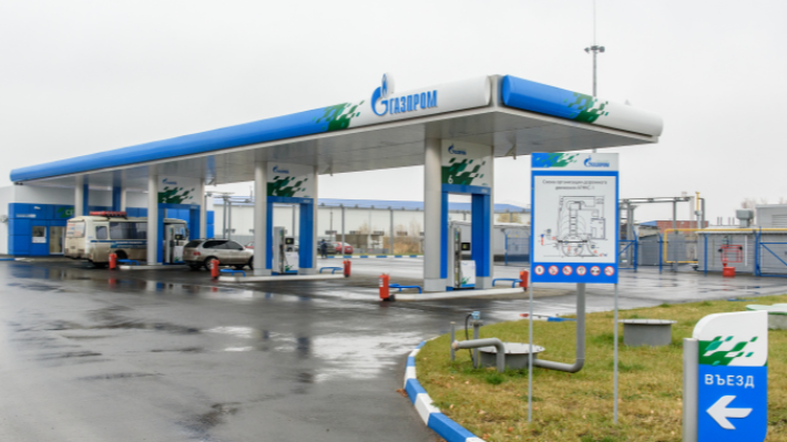 В Омске заработала вторая метановая заправка. Её построили в 500 метрах от пассажирского предприятия